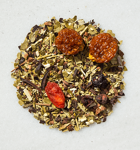Throne of Berries Organic Yerba Mate Tea by ©Circle of Drink