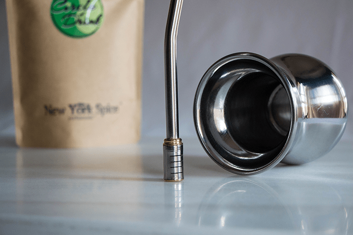 Acero Cup Kit - Stainless Steel Yerba Mate Cup