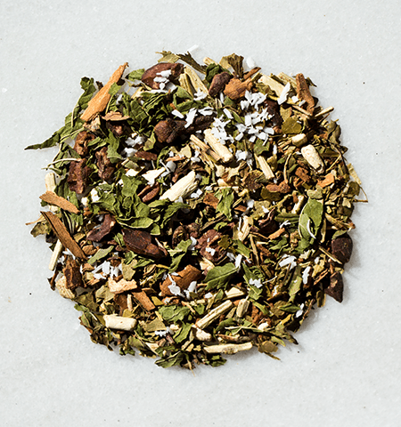 cocoMenta Mint Chocolate Organic Yerba Mate Tea by ©Circle of Drink