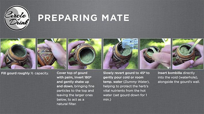 how to prepare yerba mate tea