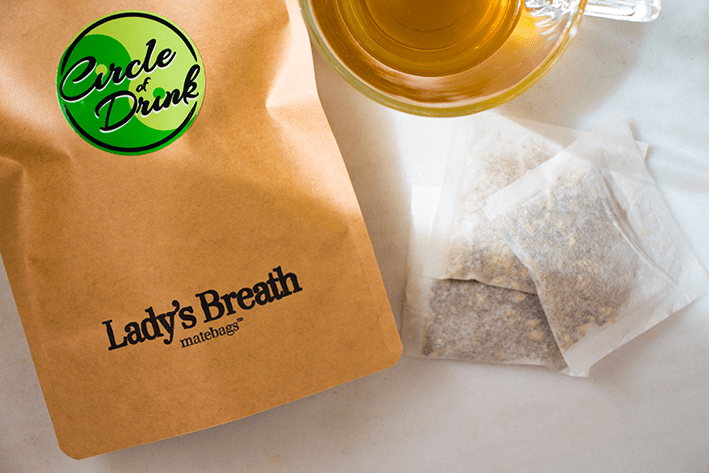 Lady's Breath Organic Mint Yerba Mate Tea Bags