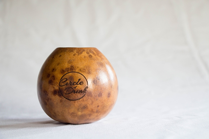 Traditional Yerba Mate Gourd