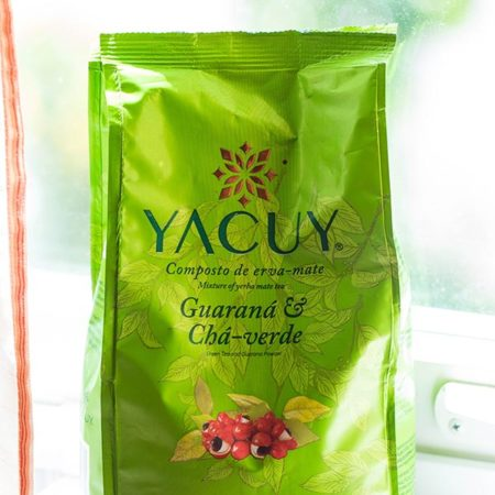 Yacuy Guarana Green Tea Erva Mate 500g